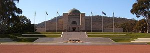 Anzac Parade, Canberra - Australian War Memorial
