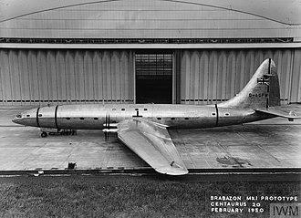 Bristol Brabazon - Brabazon in 1950