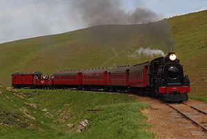 Weka Pass Railway - Image: A 428 near Gate 2 on the Weka Pass Railway