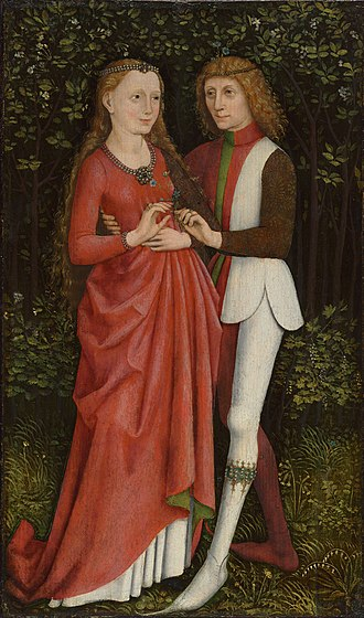 1470s in art - Image: A Bridal Couple (1470)