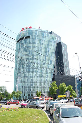 Vodafone - The headquarters of Vodafone Romania in Bucharest