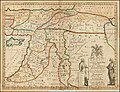 A New Map of the Eastern Parts of Asia Minor Largely taken as Also of Syria, Armenia, Mesopotamia &c . . .Dedicated to his Highness William Duke of Glocester.jpg