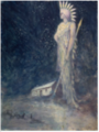 A Spirit or Sidhe in a Landscape .PNG