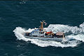 A U.S. Coast Guard ship transits the Persian Gulf during exercise Spartan Kopis Dec. 9, 2013 131209-N-OU681-405.jpg