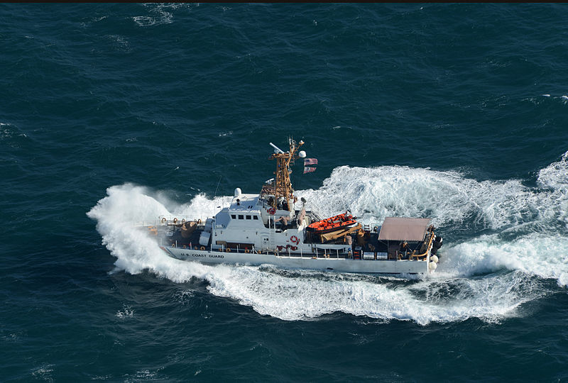 File:A U.S. Coast Guard ship transits the Persian Gulf during exercise Spartan Kopis Dec. 9, 2013 131209-N-OU681-405.jpg