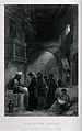 A man selling opium at night nearby a woman breast feeding h Wellcome V0019263.jpg