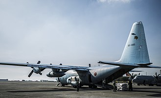 401st Tactical Airlift Squadron (JASDF) - Typhoon Haiyan relief operations (2013)