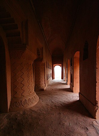 Garhgaon - Image: A passage within Gargaon Kareng Ghar
