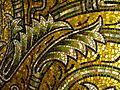 Aachen Dom Kuppelmosaik Detail 6.JPG