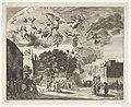 Aankomst van koning Karel II van Engeland te Den Haag, 1660, RP-P-OB-81.885.jpg