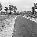 Aanleg en verbeteren van wegen, dijken en spaarbekken, gagelweg, Bestanddeelnr 161-0932.jpg