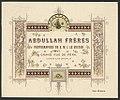 Abdullah Frères, Photographes de S.M.I. le Sultan, Grand Rue de Pera, Constantinople LCCN2009631560.jpg