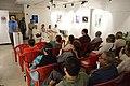 Abhoy Nath Ganguly Addressing - Biswatosh Sengupta Solo Exhibition Inauguration - Kolkata 2015-07-28 3187.JPG