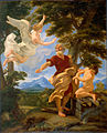 Abraham's Sacrifice of Isaac by Il Baciccio, c. 1700, High Museum of Art.jpg