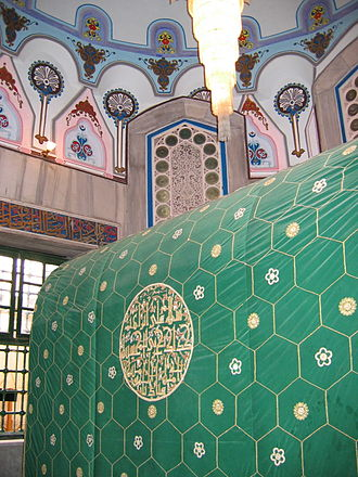 Islamic–Jewish relations - The Cave of the Patriarchs, burial place of Abraham.