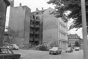 Einmündung zum Exerzierplatz (1973)