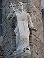 Absis de la Sagrada Familia - Sant Bru obra de l'escultora Montserrat Garcia Rius.JPG