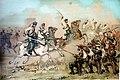 Acción de Piedrabuena - Carga de la caballería del Coronel Melgerizo (Segunda parte de la Guerra Civil. Anales desde 1843 hasta el fallecimiento de don Alfonso XII).jpg