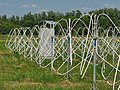 Active dipoles of low-frequency Giant Ukrainian Radio Telescope (GURT) phased array. Kharkiv oblast, Ukraine.jpg