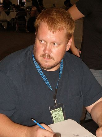 Adam Hughes - Hughes doing a convention sketch in May 2009