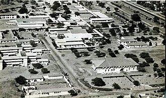 University of Botswana - Aerial View of University Of Botswana in the late 80's