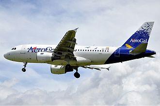 Avianca Ecuador - An AeroGal Airbus A319