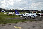 Aerodrome Stapleford Abbotts Lambourne Essex England - flight line.jpg