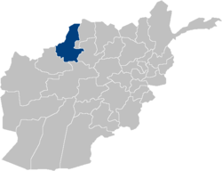 Afghanistan Faryab Province location.PNG