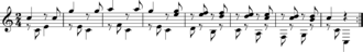 Variation (music) - Ah je vous dirai maman Var 5