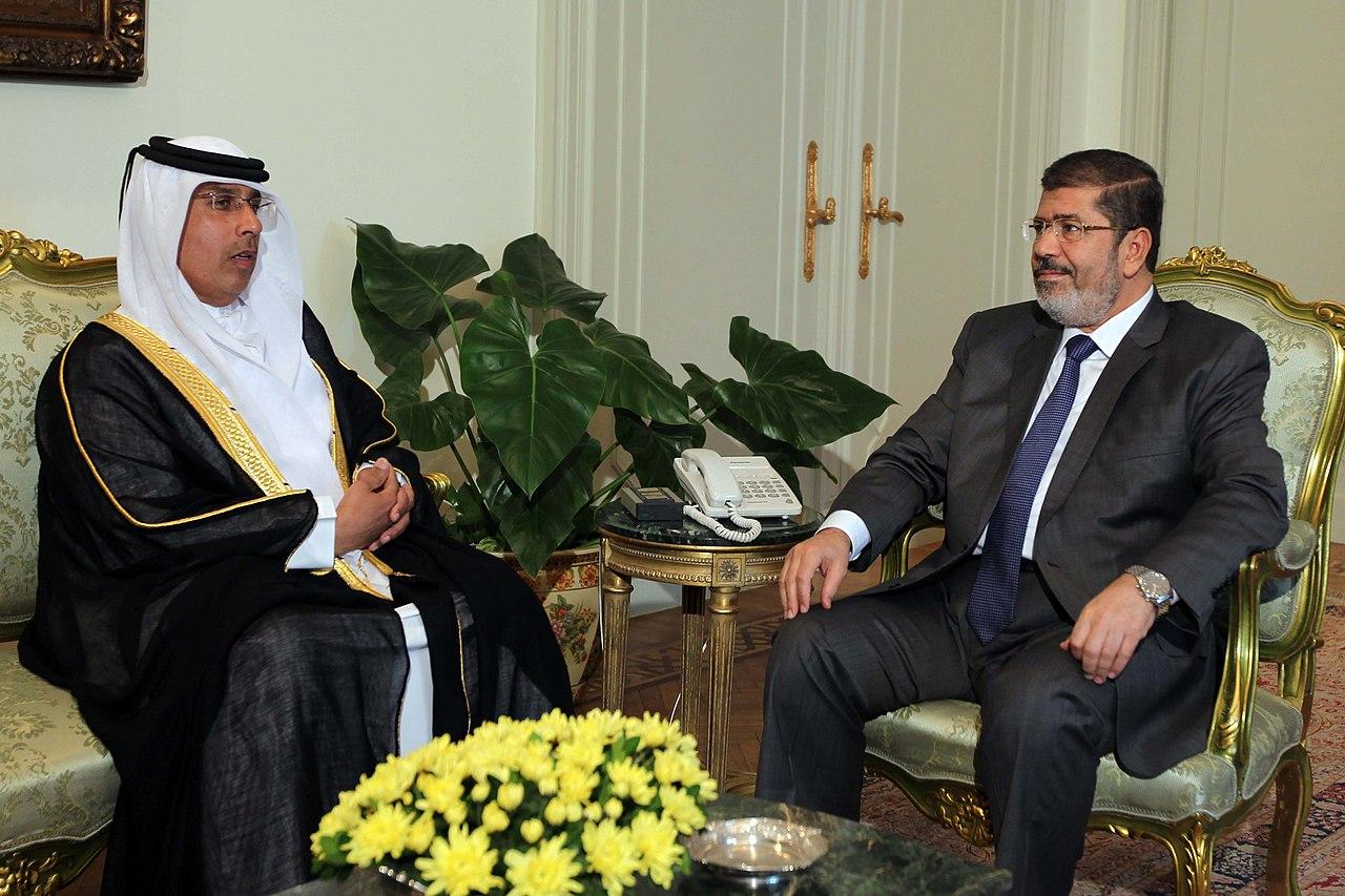 Ahmad Abdulla AlShaikh and Mohamed Morsi.jpg