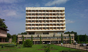Zaria - Senate building of the Ahmadu Bello University