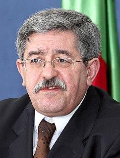 Ahmed Ouyahia Algerian politician