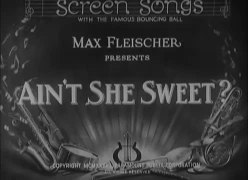 File:Ain't She Sweet (1933).webm
