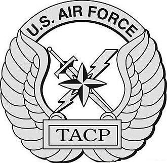 United States military beret flash - Image: Air Force TACP Badge