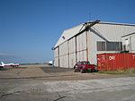 Aircraft Hangar at Lydd Airport (geograph 1978352).jpg