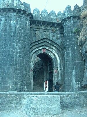 Ajinkyatara - Entrance to Ajinkyatara fort