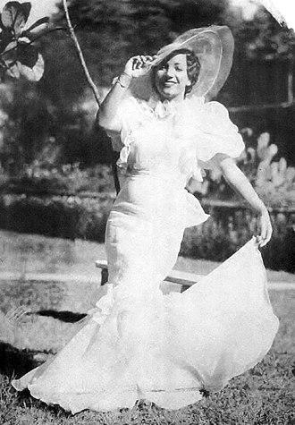 1935 in Brazil - Carmen Miranda in Alô, Alô Brasil.