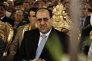 English: Prime Minister of Iraq Nuri al-Maliki...