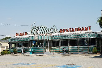 National Register of Historic Places listings in Fall River, Massachusetts - Image: Al Mac Diner
