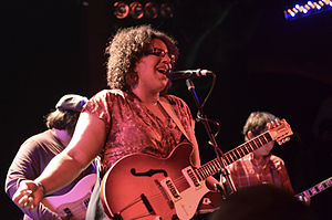 Alabama Shakes - The band performing three months prior to the release of Boys & Girls (2012).