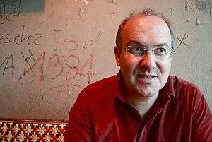 Alain Damasio cover