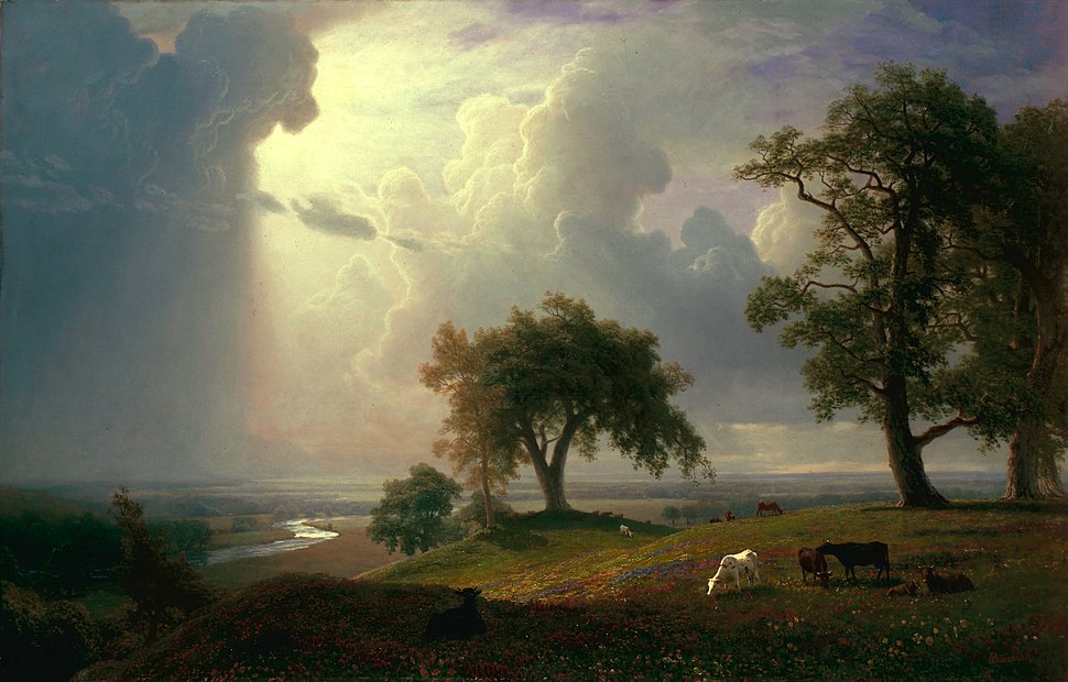 Albert Bierstadt - California Spring - Google Art Project