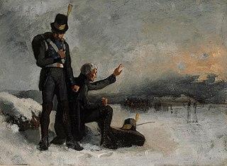 Scene from the Finnish War