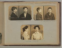 Album of Paris Crime Scenes - Attributed to Alphonse Bertillon. DP263824.jpg
