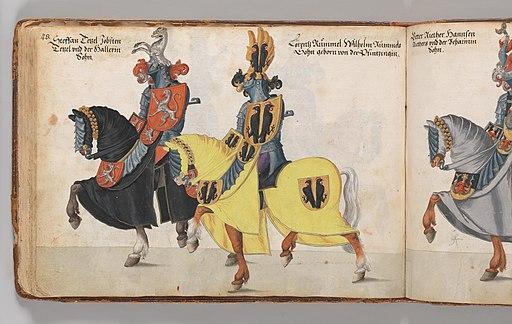 Album of Tournaments and Parades in Nuremberg MET DP238706