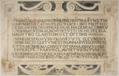 Alcalá de Henares (RPS 18-11-2013) Capilla de San Ildefonso, lápida del nicho de Francisco Vallés.png