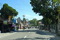 Alcantara, Cebu – National road