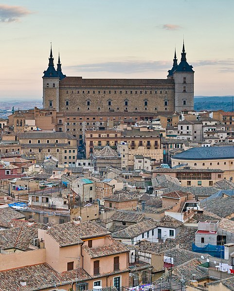 File:Alcazar of Toledo - Toledo, Spain - Dec 2006.jpg