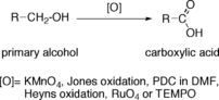 Oxidation of primary alcohol to carboxylic acid