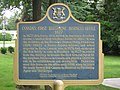 Alexander Graham Bell in Brantford, Ontario, Canada -plaque commemorating Canada's first telephone company office, established in Brantford, Ontario, 1877.JPG